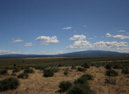 Gearhart Mountain and surrounding area in the  East Cascades ecoregion.